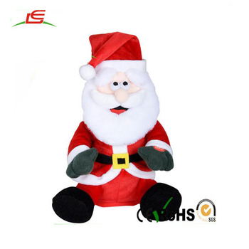 Custom Animated Plush Toy Dancing Musical Rapping Christmas Santa Claus Buy Santa Claus Christmas Santa Claus Musical Christmas Santa Claus Product
