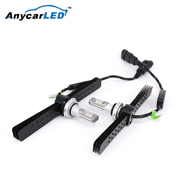 ANY CAR LED Hot Sale & High Quality Auto Parts 12V Bright Car 9006 LED Head Lamp For Accent'06