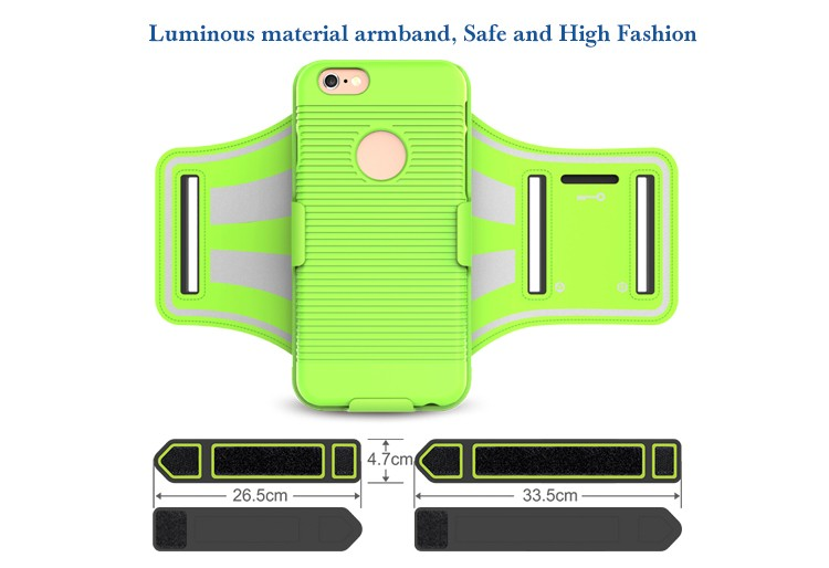 New Patented Product Spring Sport Jogging Armband Case for iPhone 7