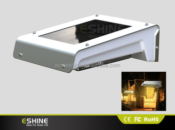 Els-11p 0.6w Solar Panel 16 Led Outdoor Eco Motion Light With ...