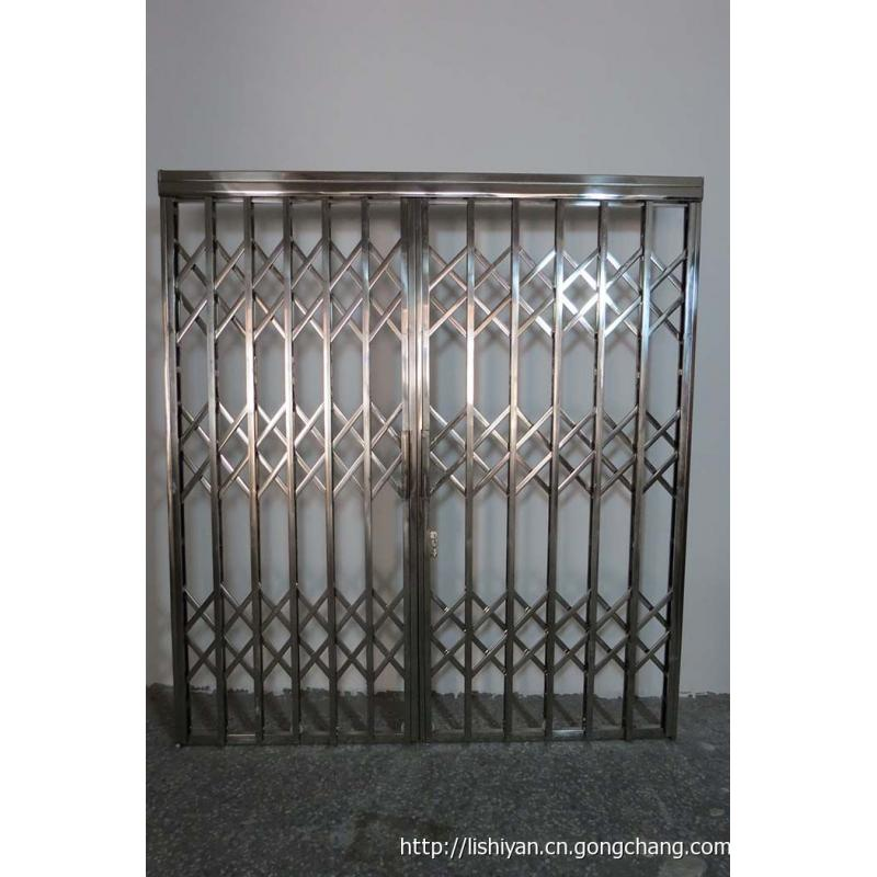 Strong Stainless Steel Sliding retractable door