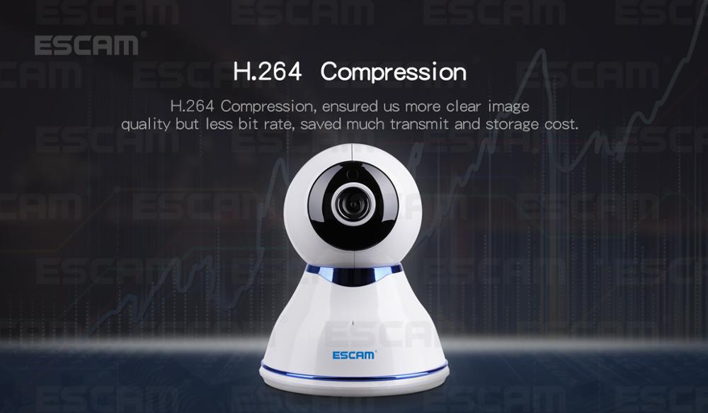 ESCAM QF507 IP CAM HD 1080P Wireless PT Camera Day Dome wifi p2p camera ip