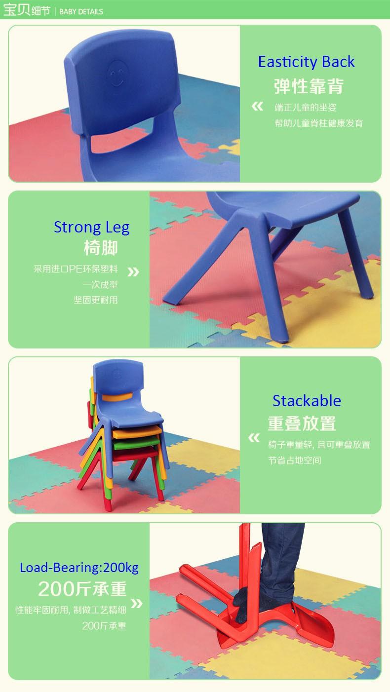 Preescolar Niños Muebles Sillas De Plástico Para Muebles Preescolar ...