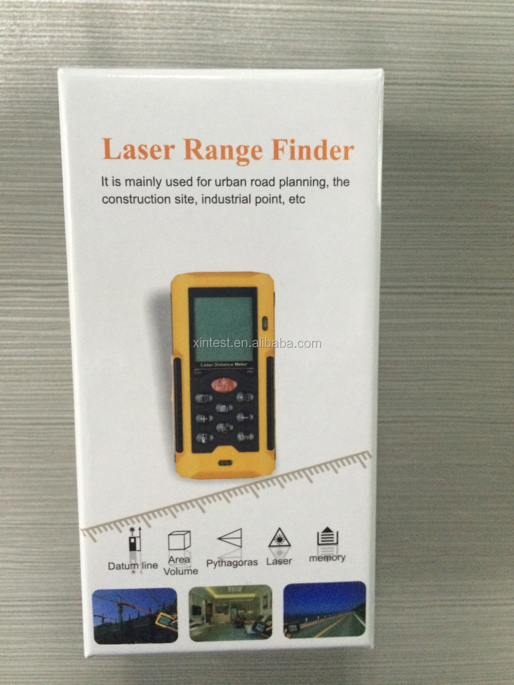 40m 60m 80m 100m Laser Distance Meter Rangefinder with LED Backlight
