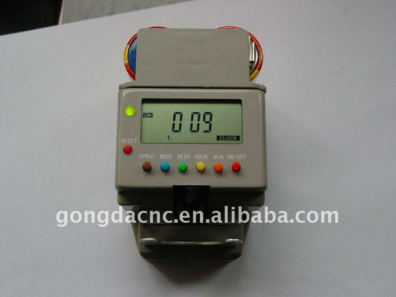 LCD aerosol dispenser timer, inner cartridge, mechanism