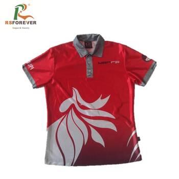 7edd293b8 Custom Made 100 Polyester Dye Sublimation Sport Polo Shirts For Men ...