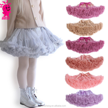 2017 hot selling BABY girls tutu skirts kids pettiskirts Wholesale Birthday Tutu Pettiskirt