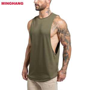 2018 New Arrival custom tank top/mens gym stringer/men wrestling singlet