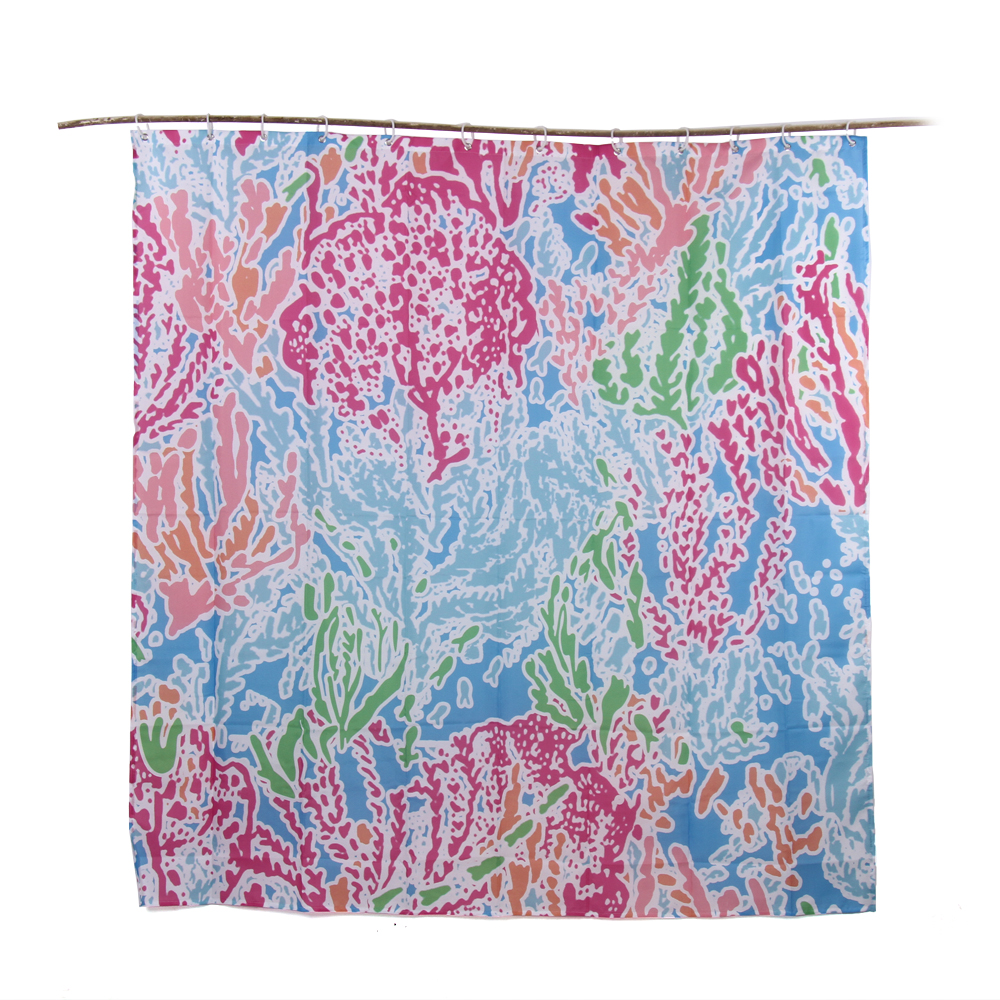 Elegant Lilly Pulitzer Shower Curtain, Lilly Pulitzer Shower Curtain Suppliers And  Manufacturers At Alibaba.com