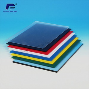 Customize colorful low price design cast acrylic sheet / board