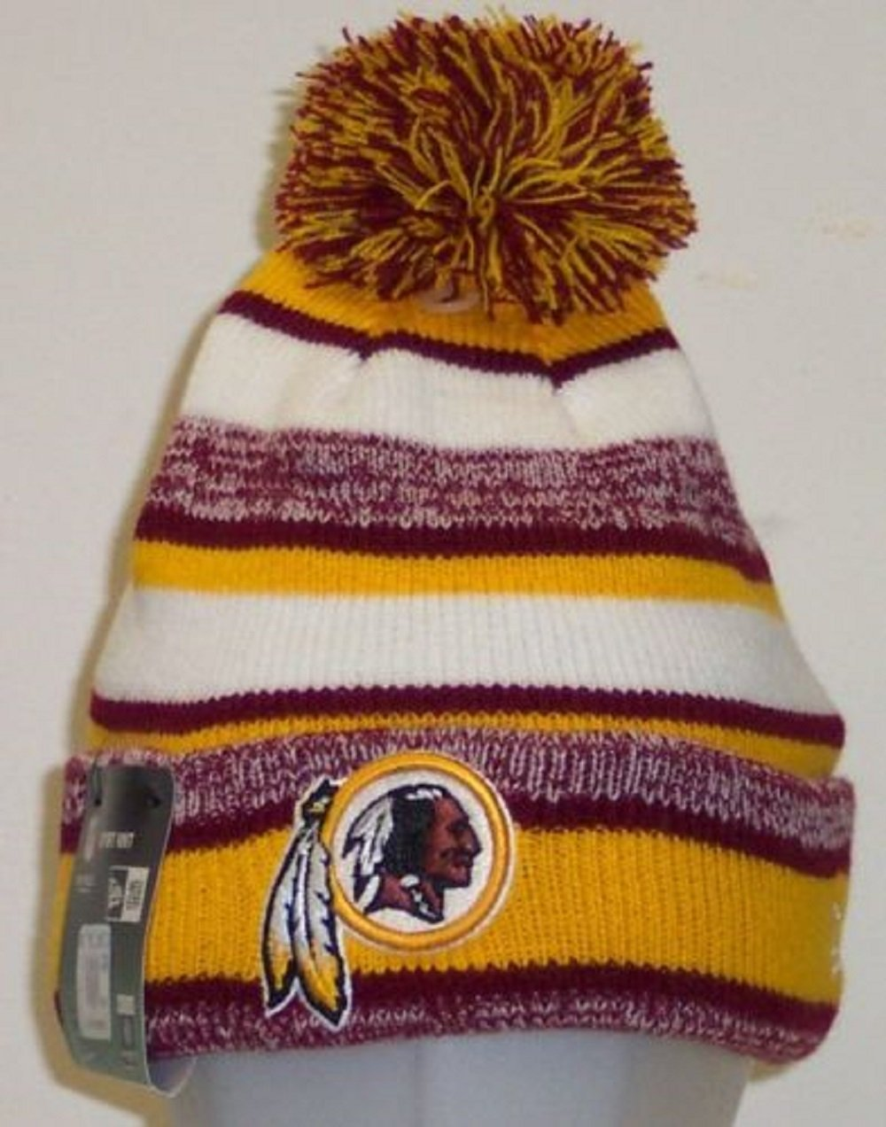 95accdb476b Get Quotations · Washington Redskins Official NFL 2014 On Field Sport Knit  Cap Winter Hat   Toque