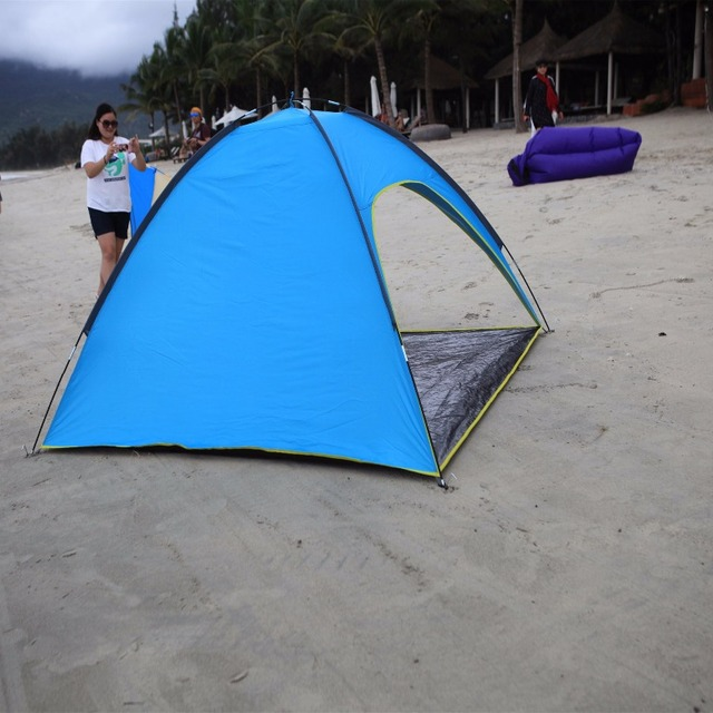 STAR HOME Outdoor Beach Tents clamshell tent sun shelter umbrella shade canopy tent : beach tent umbrella - memphite.com