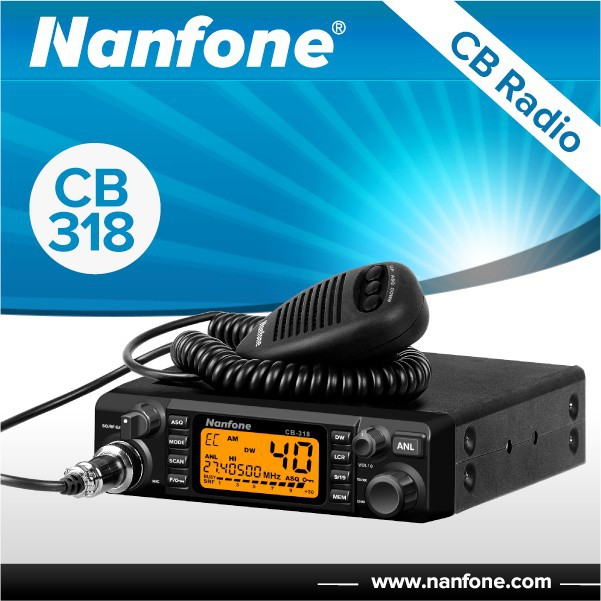 Nanfone CB318 12v/24v car radio vitai ranges