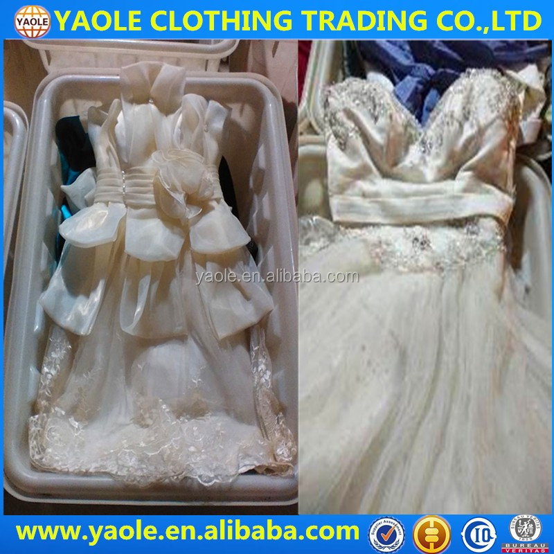 all Type and children women Gender used clothes ladies wedding/evening dress