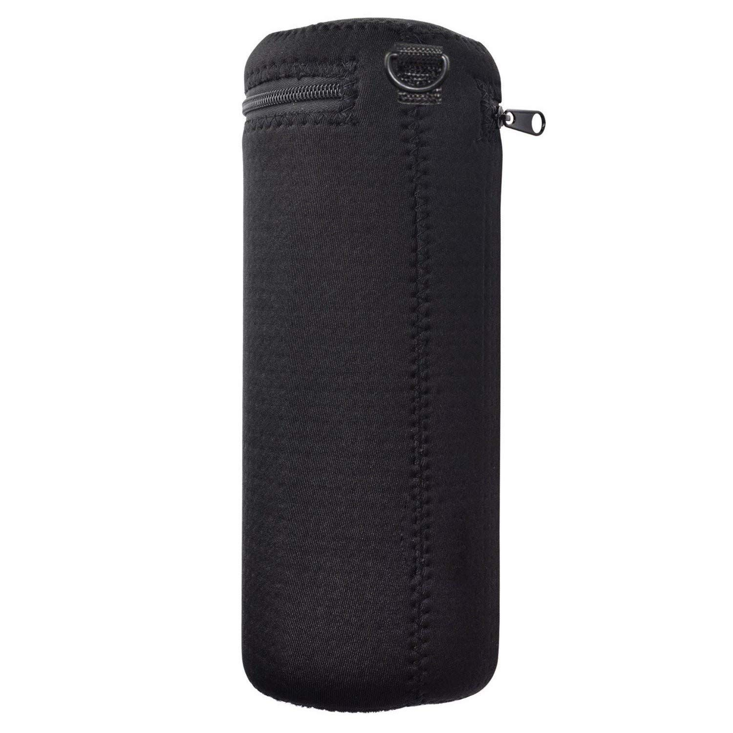 Black Color Soft Neoprene Carrying Case Portable Protection Travel Sleeve Cover Pouch Bags for Ultimate Ears MEGABOOM 3 Portable Bluetooth Wireless Speaker