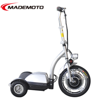 Led light used 3 wheel adult foldable electric scooter for 3 wheel scooters for adults motorized