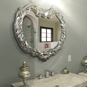 Wall Mounted Decorative Mirror For Beauty Salon
