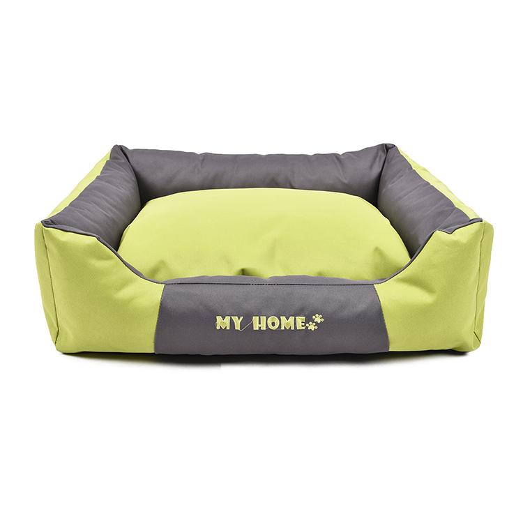 格安卸売カスタム快適な犬のベッド防水オックスフォード生地快適なペットベッド