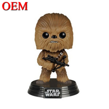 Fantasy War Movie Role Cute Chewbacca Figure Toy