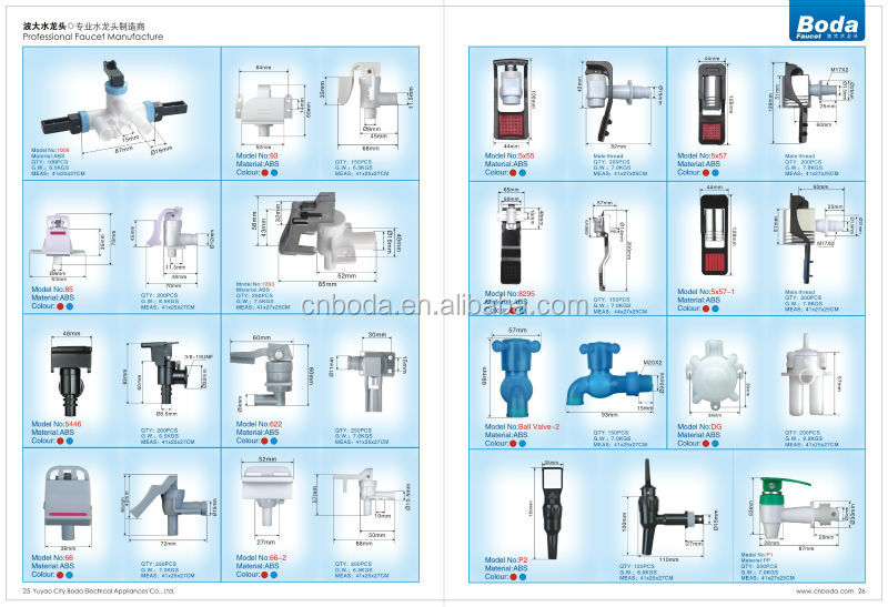 Plastic Faucet Made In China Water Tap Types Buy Faucets