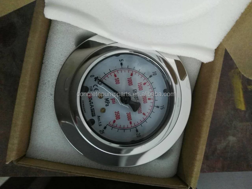 Orginal Germany Dmass Pressure Gauges MBB06U-250-1-Z-Z-Z