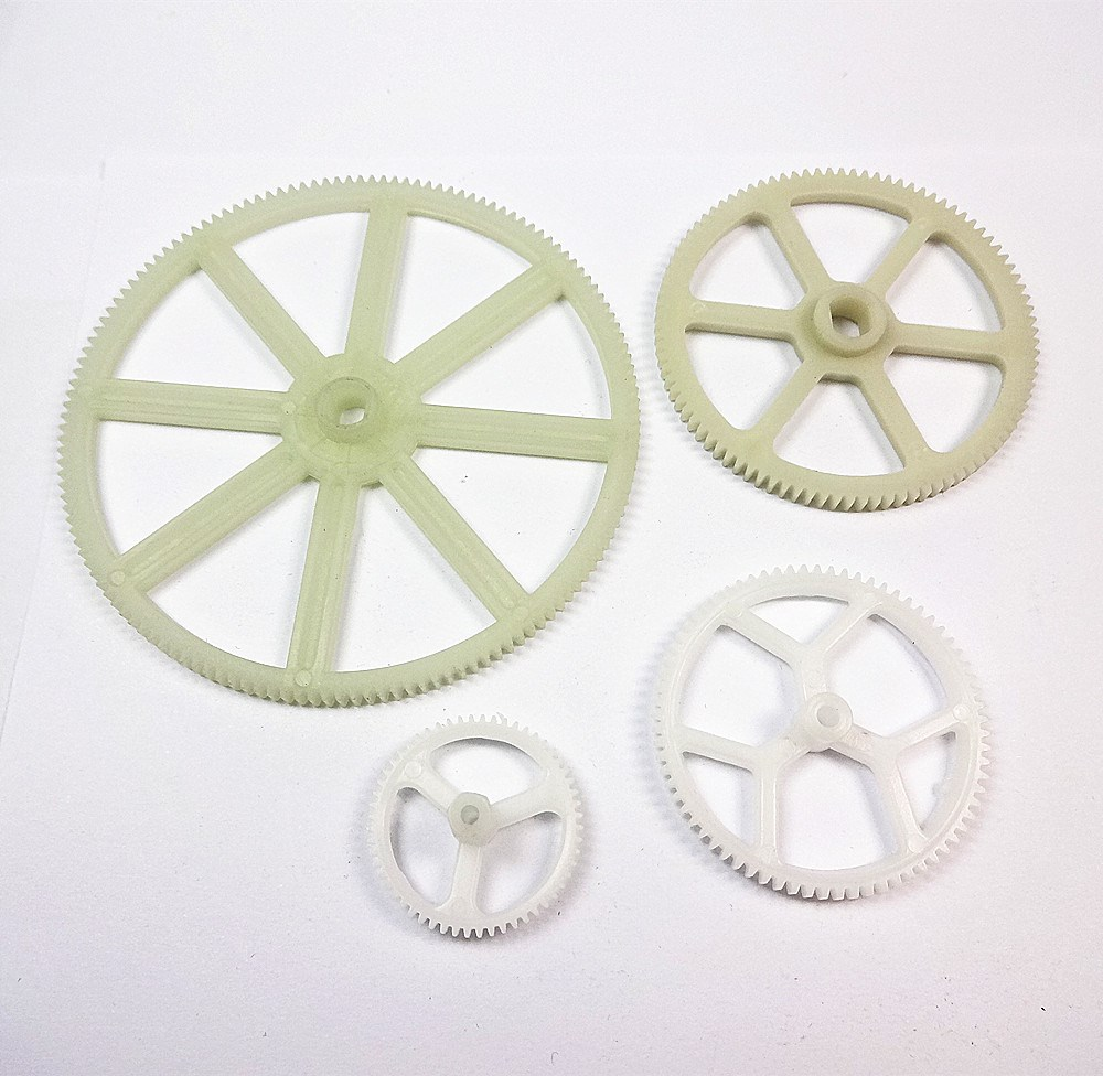 Pom Abs Nylon Double Plastic Spur Gear For Machine Made In
