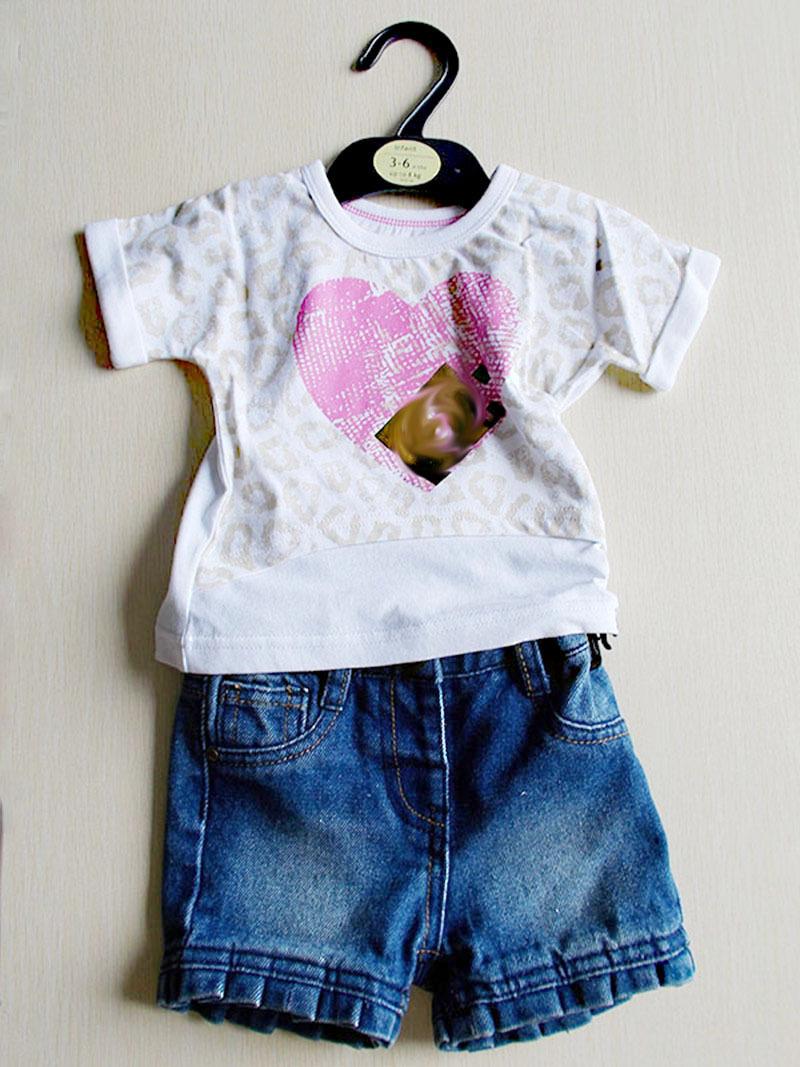 23f1b2139 أعلى بيع الأطفال الملابس/طفل مجموعات الملابس تي شيرت الفتيات كشكش السراويل