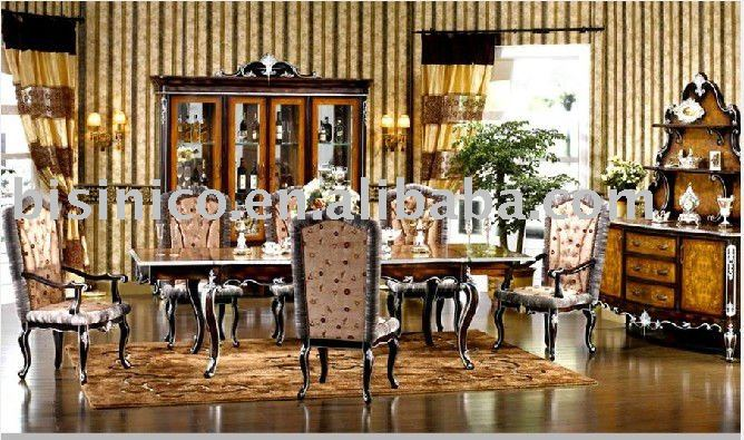 English Style Dining Room Set