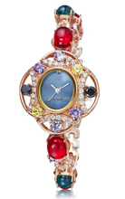 diamond 3a zircon fashion ladies female ladies luxury stainless steel vogue watch