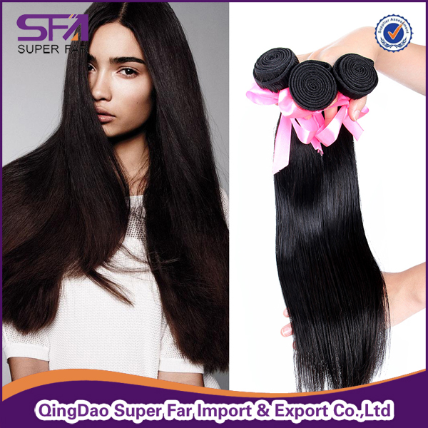 100% Raw Unprocessed Virgin Chinese Straight Human Hair