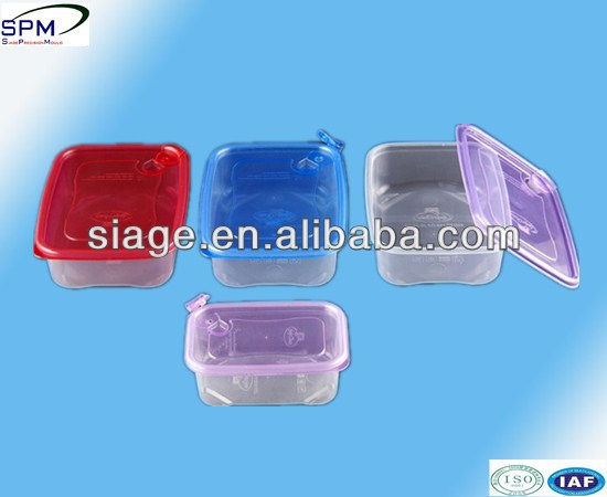 Nice seal plastic injection food container mould exporter