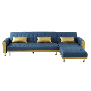 Factory Whole 3 Metre Sofa Leather Section Ergonomic Bed
