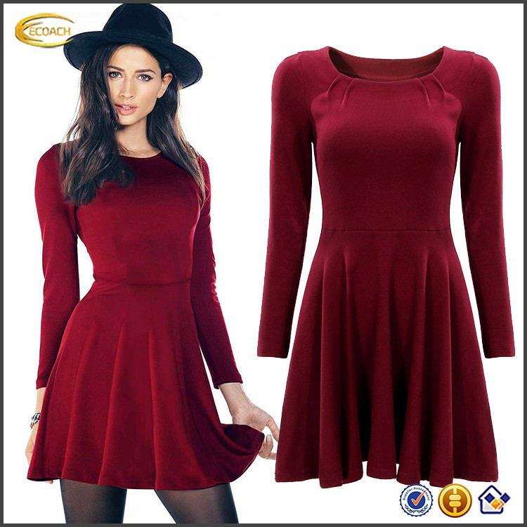 chinese clothing manufacturers wholesale for women 2015 autumn fashion long sleeve alibaba dress