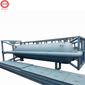 Oilfield Well Drilling Solid Control Equipment Mud Tank Use Fuel Oil Water Separator