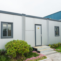 Flat Packed Prefabricated Portable Container Module House/Export Chinese Low Cost Quick-Installed Container House