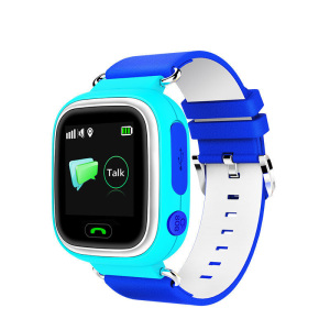 Q523 SOS function remote GPS tracking anti-lost LCD screen kids pedometer smart watch phone with LBS+GPS+WIFI location-YQT