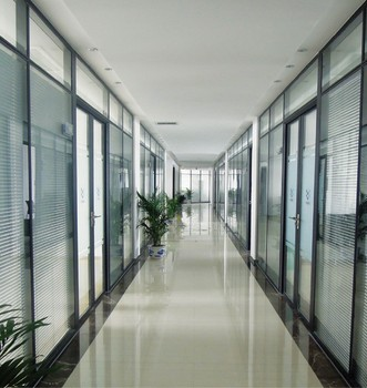 price of aluminium used office partition glass wall aluminum office partitions