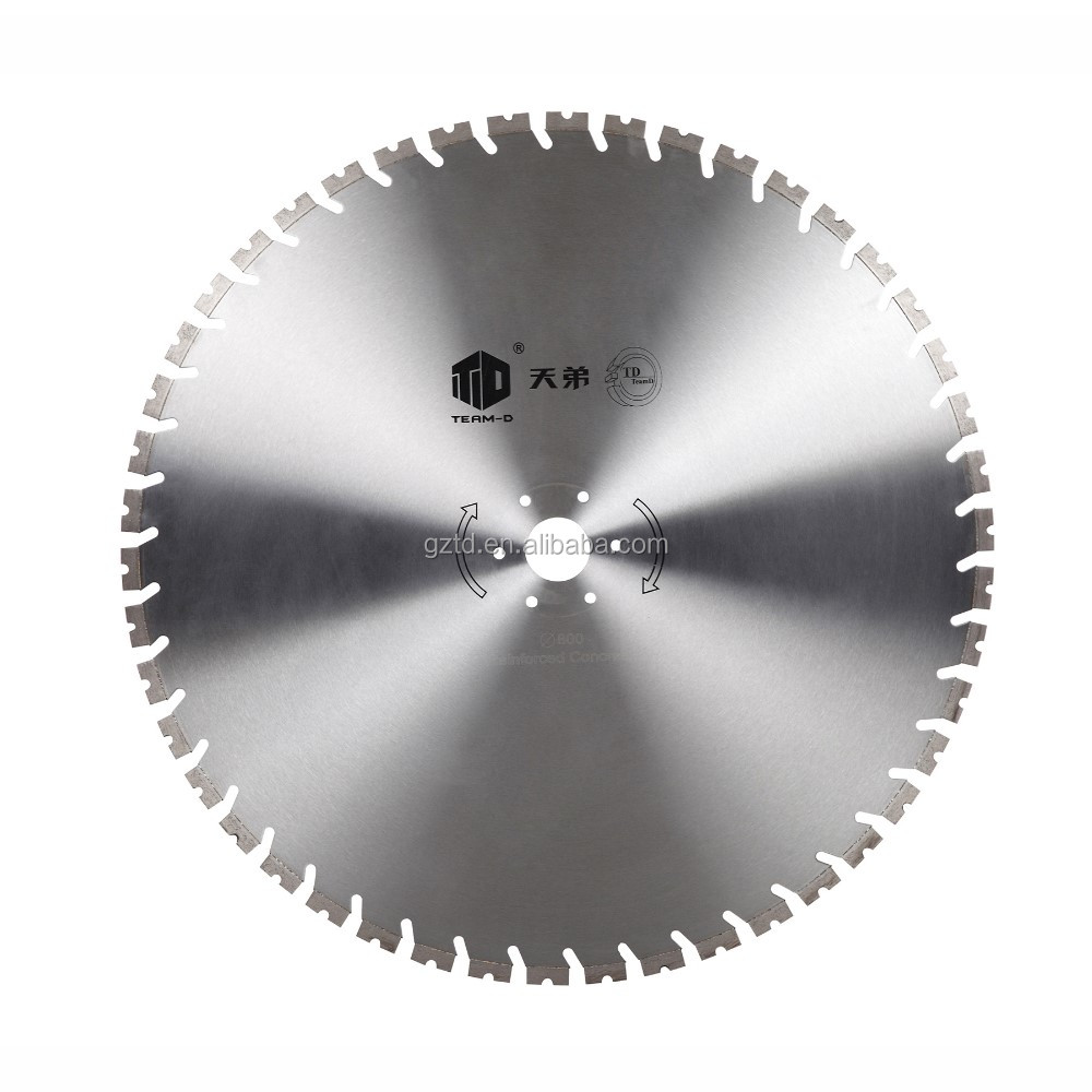 Sharp and High efficiency Laser-welded Diamond disc for cutting metal like copper and steel