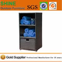 Rattan Furniture Wholesale Customized Storage Bathroom cabinet for Hotel