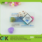 Custom plastic transparent businesscard at fast lead time