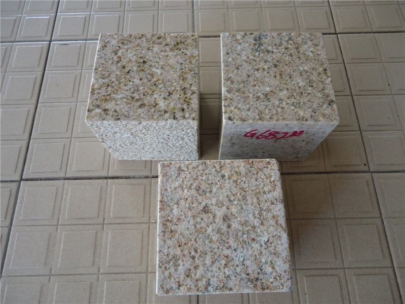 China granite cube granite 682 Paving Stone