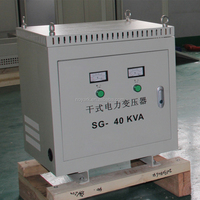 three phase air cooled 40kva voltage transformer 600v to 380v