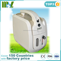 2017 New design MSLJY01 Portable clinic 1L/3L/5L Oxygen concentrator easy to carry