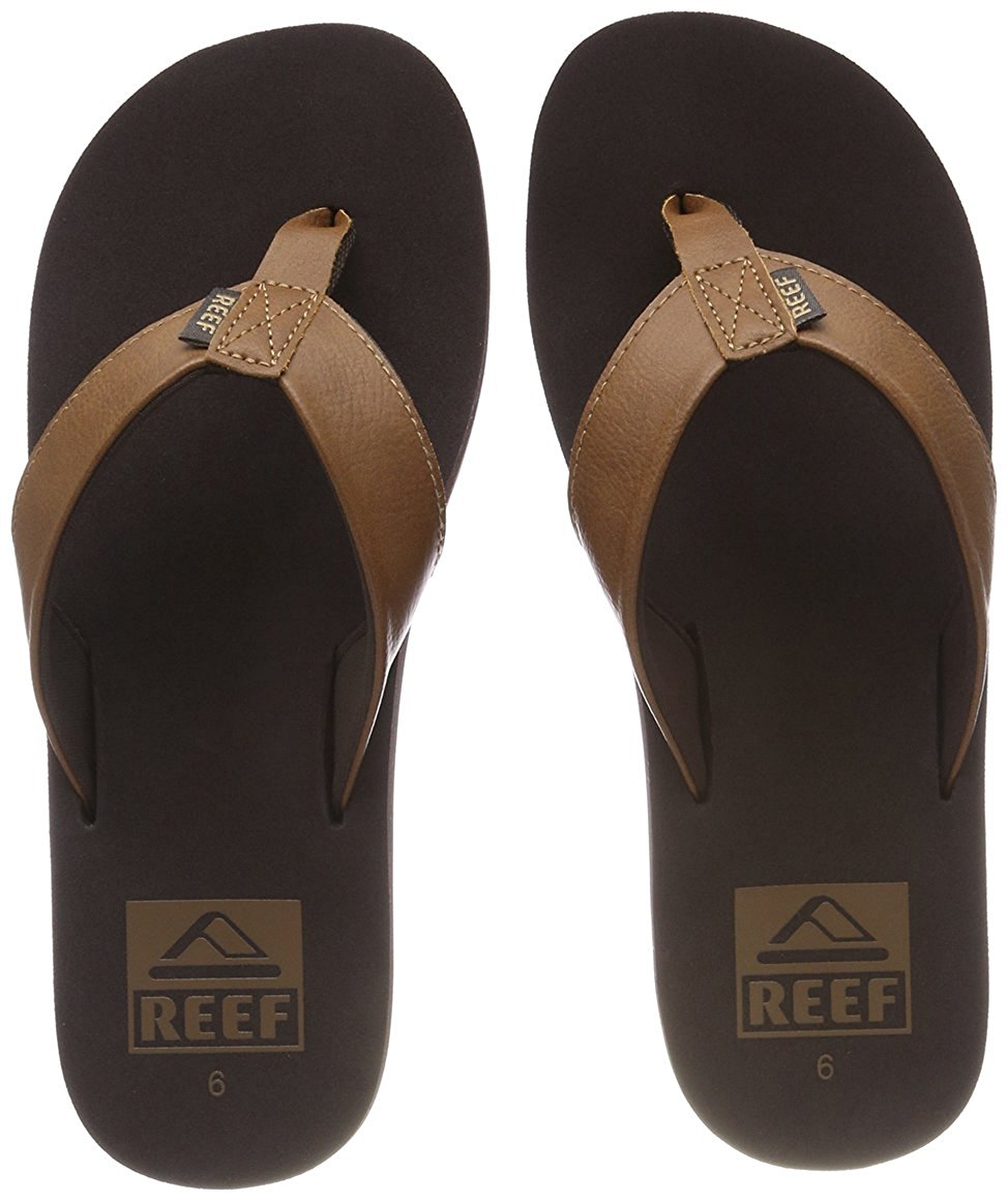 feac8021b07e Get Quotations · Reef Twinpin Mens Sandals