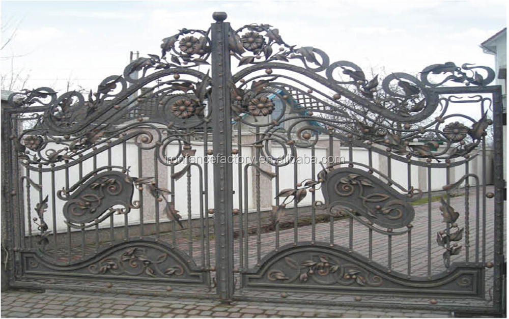 Latest Products Steel Sliding Gate Design/iron Pipe Gate Design ...