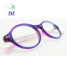 78ebb09efc1c46 Lage MOQ modieuze ovale multicolor acetaat optische eyewear frame wenzhou  lenzenvloeistof groothandel