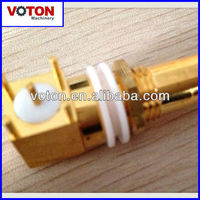 Gold plated PAL jack Right Angle for PCB nice quality professional connector