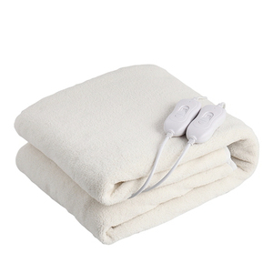 Wholesale double size warming electric heating flannel blanket