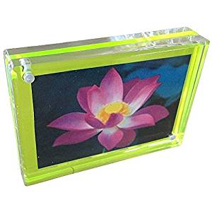 Canetti New for 2015 Acrylic TRIPLE MAGNET FRAME in NEON GREEN by 4x6 …