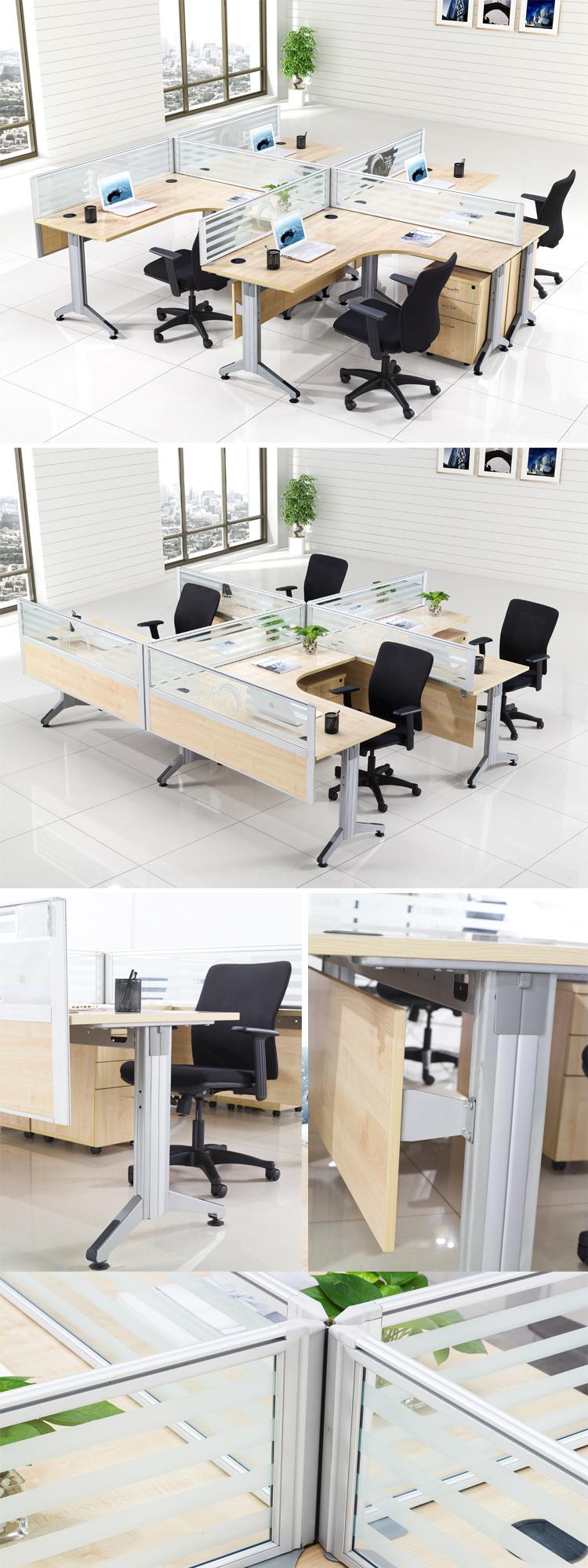 China Modernes Design Holz Modulare Büromöbel/büro Workstation ...